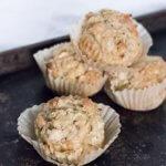 Apple Oatmeal Muffins | www.infinebalance.com #recipe