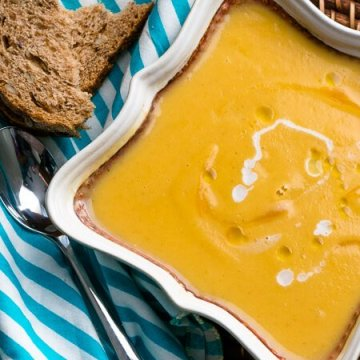 Sweet Turnip and Carrot Soup | www.infinebalance.com