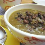 Simple Black Bean Soup with Rum | www.infinebalance.com #recipe #vegan
