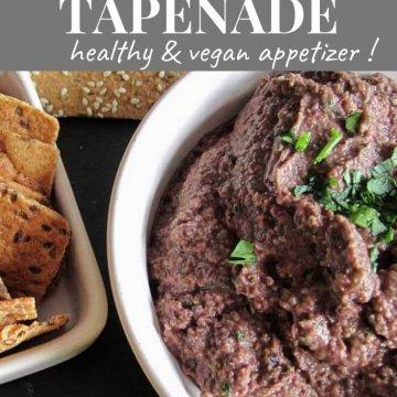 olive and lentil tapenade