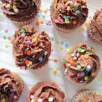 Strawberry Cupcakes | www.infinebalance.com #vegan