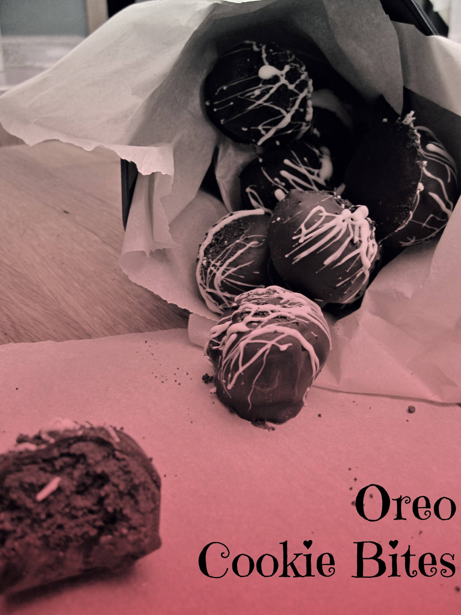orea truffles for valentines day