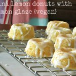 vegan lemon donuts | www.infinebalance.com
