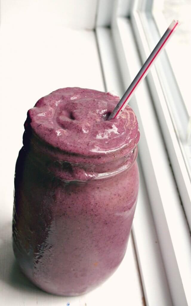 purple smoothie