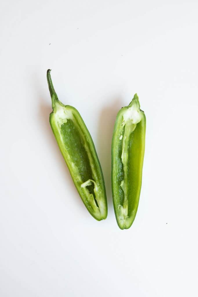how to slice jalapeno peppers