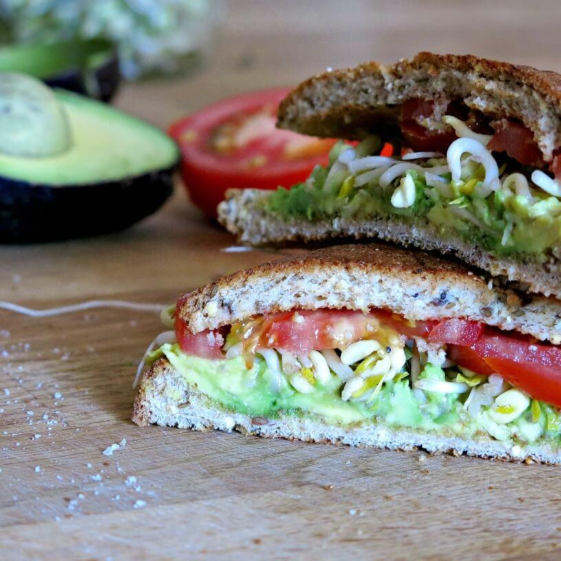 avocado sandwich | www.infinebalance.com