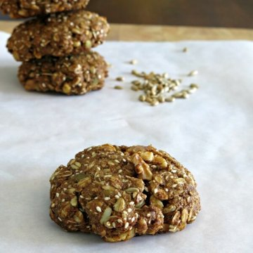 Vegan Breakfast Cookies | www.infinebalance.com #recipe