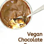 chocolate vegan pudding