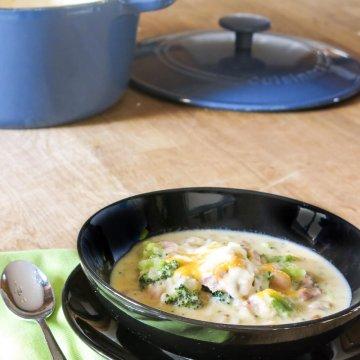 Potato and Broccoli Soup | www.infinebalance.com