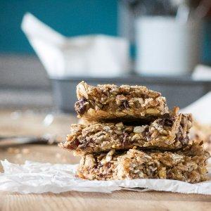 Nut-Free Granola Bar for the Lunch Box | www.infinebalance.com #vegan #nut-free