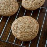 Peanut Butter Crinkle Cookies | www.infinebalance.com #gluten-free