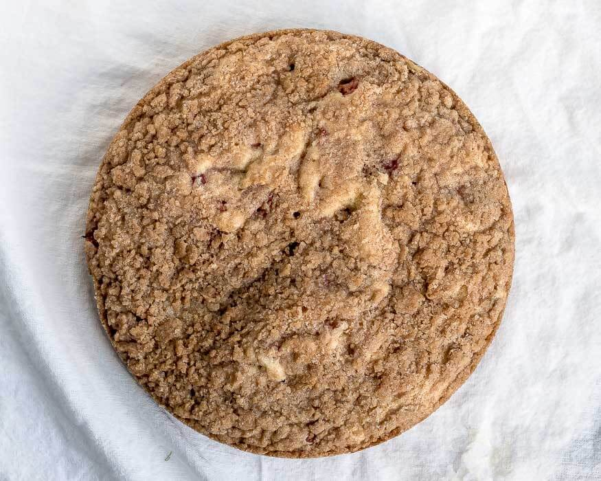 Rhubarb Coffee Cake | The Infinebalance food blog