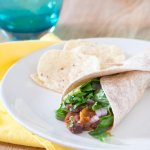 Sweet Potato and Black Bean Tacos | www.infinebalance.com #vegetarian #crockpot #slowcooker
