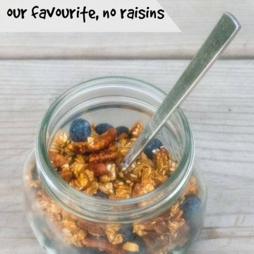 Pecan Granola | www.infinebalance.com #breakfast #recipe