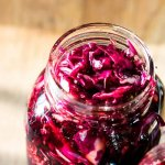Spiced Pickled Red Cabbage | www.infinebalance.com #recipe #vegetables