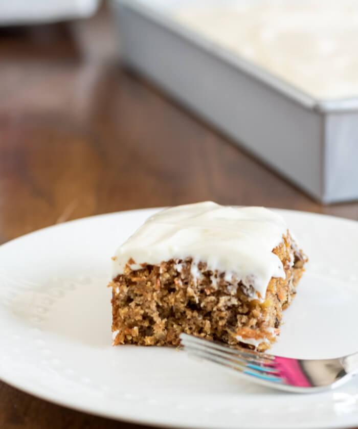 The Best Ever Carrot Cake | www.infinebalance.com #recipe