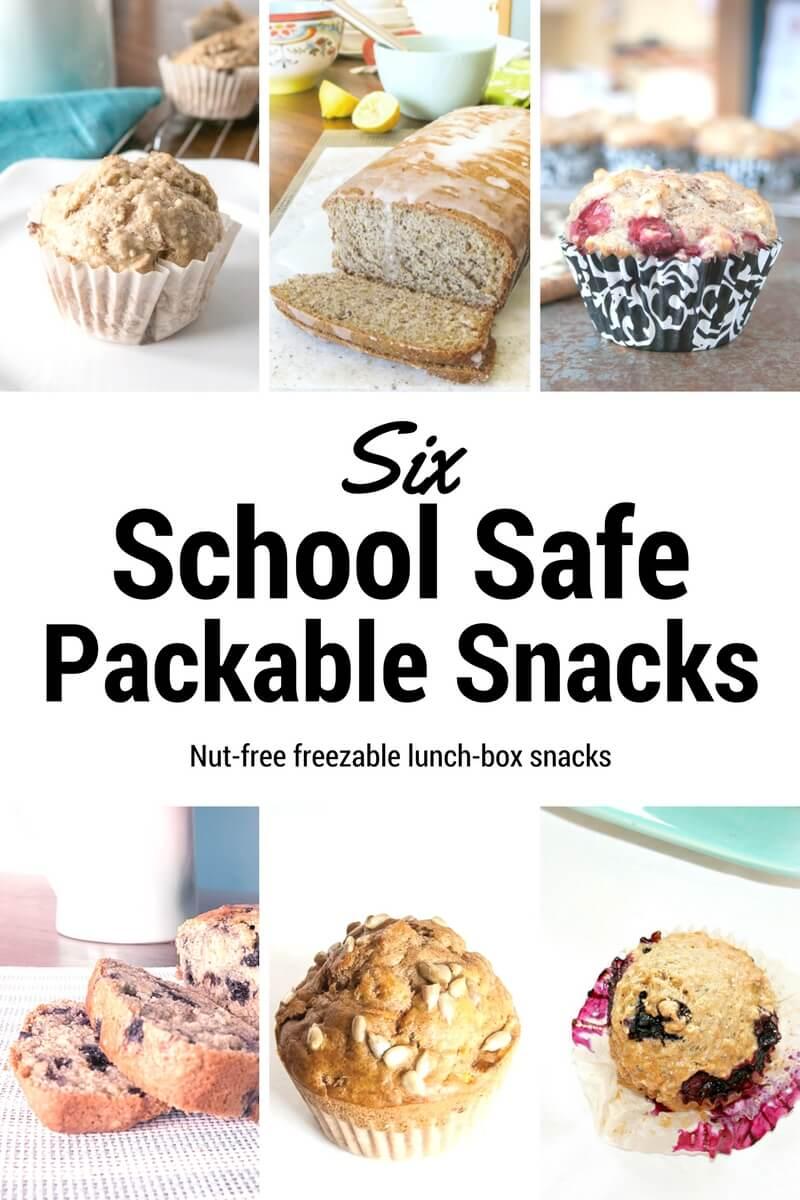 School-Safe Lunch Snacks | www.infinebalance.com #recipes