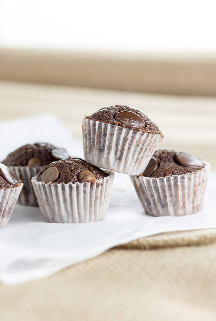 Two-Bite Nutella Brownies | www.infinebalance.com