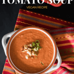 peanut tomato soup with text