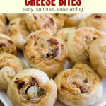 sundried tomato puffed pastry appetizer rolls