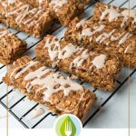 carrot cake bars with frosting