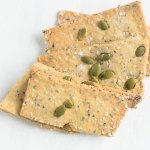 crackers made with pumpkin seeds