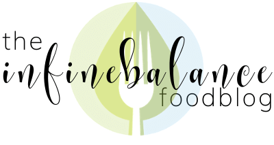 The Infinebalance Food Blog logo