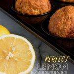 lemon and lemon muffins